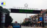 Lắp đặt cổng chào Huyện Tiên Du Bắc Ninh
